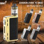 Recensione Smoant Charon 218 W Box Mod
