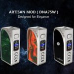Recensione Artisan DNA75C Box Mod
